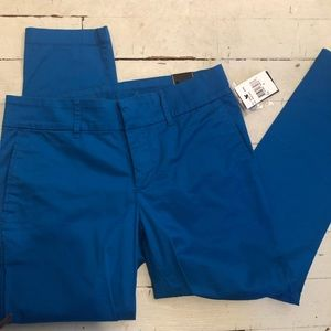 NWT Bright blue kut from the kloth crop size 2